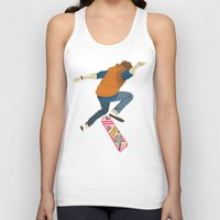 marty mcfly Tank Tops featuring McFly by Danny Haas