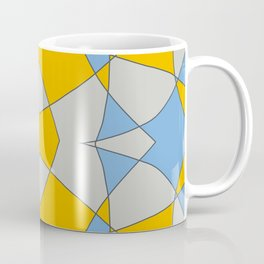 Abstract Retro Colored Butterfly Coffee Mug