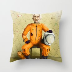 _still dreaming Throw Pillow