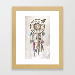 Lakota (Dream Catcher) Framed Art Print