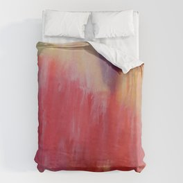 The Painted. Duvet Cover