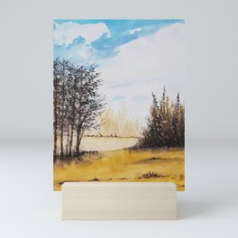 Across the Field Mini Art Print