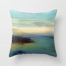 dream of sea Throw Pillow