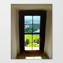 Window to Salzburg Canvas Print