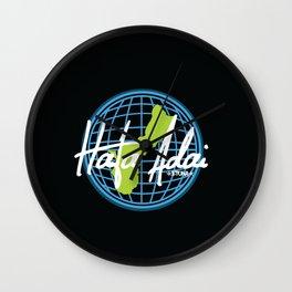 Hafa Adai Worldwide Wall Clock