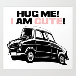 cute car Art Print