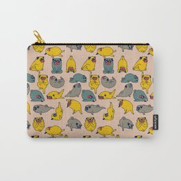 Pugs Asanas Carry-All Pouch