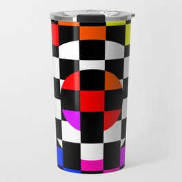 Triggle | Colorful Secret Geomoetry | Play Travel Mug