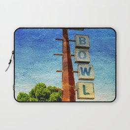 Century Bowl - Merced, CA Laptop Sleeve