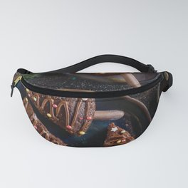Photos New year Chocolate Christmas tree Food Plat Fanny Pack