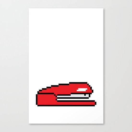Pixel Space Canvas Print