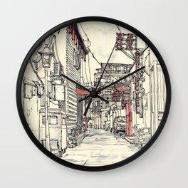 Beijing.China.Hutong Wall Clock