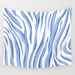 Painted Zebra Wall Tapestry