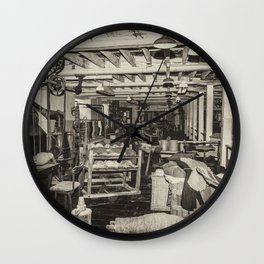 Inside Coldharbour Wall Clock