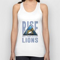 lions Tank Tops featuring Rise Lions  by Ryan Chan