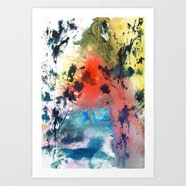 Lightning on the Horizon Art Print
