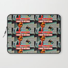 Return Those Videotapes Laptop Sleeve