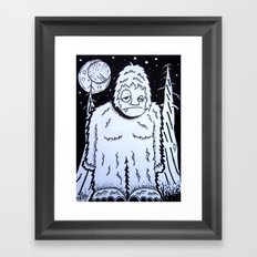 Bigfeet Framed Art Print