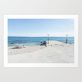 Let's chill Art Print