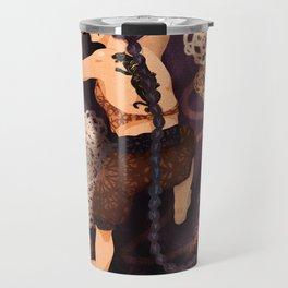 Tapestry Cat Travel Mug