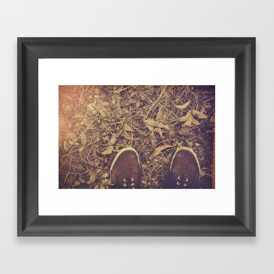 If I find love where I'm going, Will it survive me? Framed Art Print