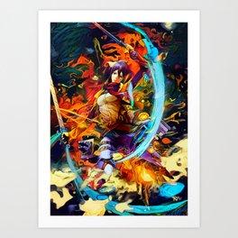 Asian one Art Print