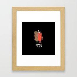 Homies for Life Framed Art Print