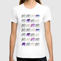 elephants T-shirts featuring elephants by shop