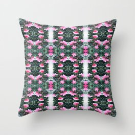Candy Coated Roses small Throw Pillow