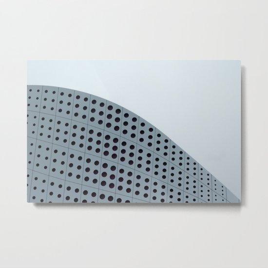 Echo grid Metal Print