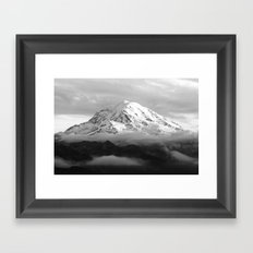 Marvelous Mount Rainier Framed Art Print
