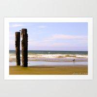 Post's Ocean Art Print