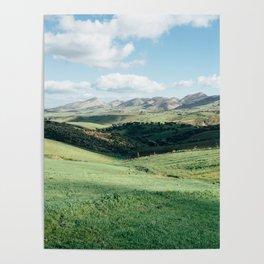 Tunisian Plateau Poster