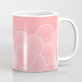Circular Blush (pattern) Coffee Mug