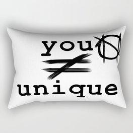 you do not equal unique Rectangular Pillow