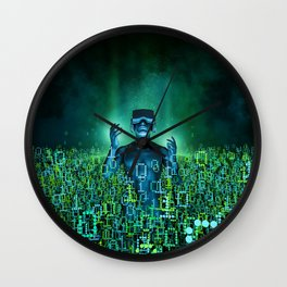 Virtual Dawn Wall Clock