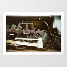 Running Gear Art Print