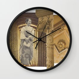 Two-stage column: vacuum Wall Clock