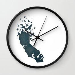 California is...The Sky Wall Clock