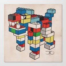 Block Hound Canvas Print