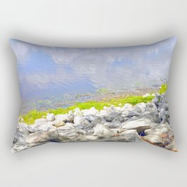 Water Abstract 2 Rectangular Pillow