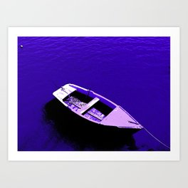 Boat of dreams Art Print