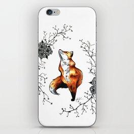 Dainty Fox iPhone Skin