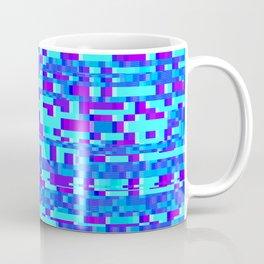 Vintage Abstract  Design Glitch Coffee Mug