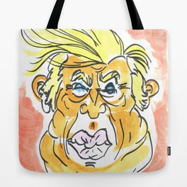 The Orange Menace Tote Bag