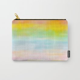 Rainbow Gradient - tie dye loved by unicorns Carry-All Pouch
