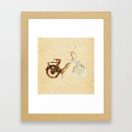Motorin' Framed Art Print