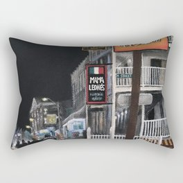 Beach Traffic Rectangular Pillow