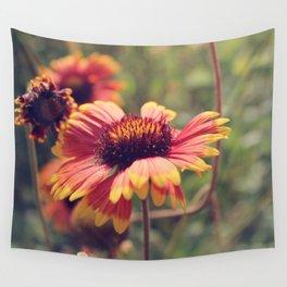 Gaillardia flower Wall Tapestry