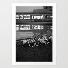 The Hundertjahre Halle Art Print